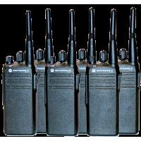 השכרת 6 מכשירי קשר MOTOROLA P145